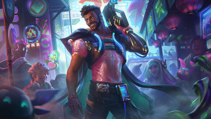 Cyber Pop Akshan will be the champion's first skin.