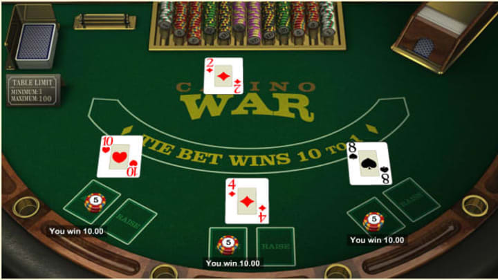 Odds in casino war how to bankrupt casinos in fallout new vegas