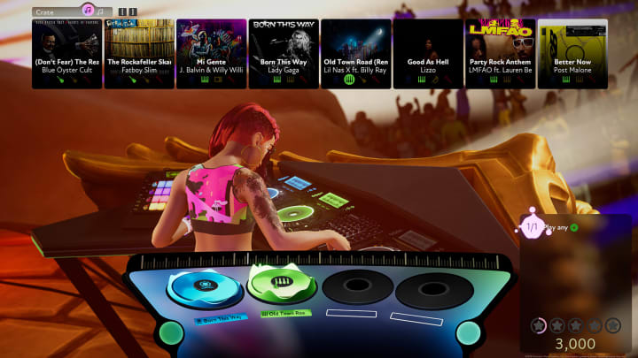 Harmonix added 15 songs to Fuser's soundtrack Wednesday.