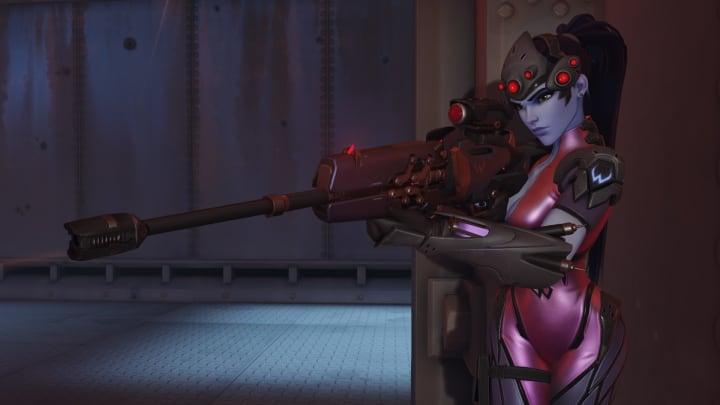 Widowmaker mains lining up their free shots after Echo completely decimates the front lines.