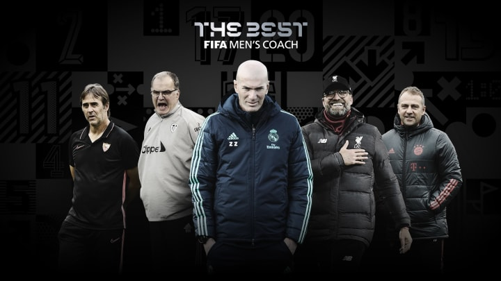 Los 5 técnicos nominados a The Best por la FIFA