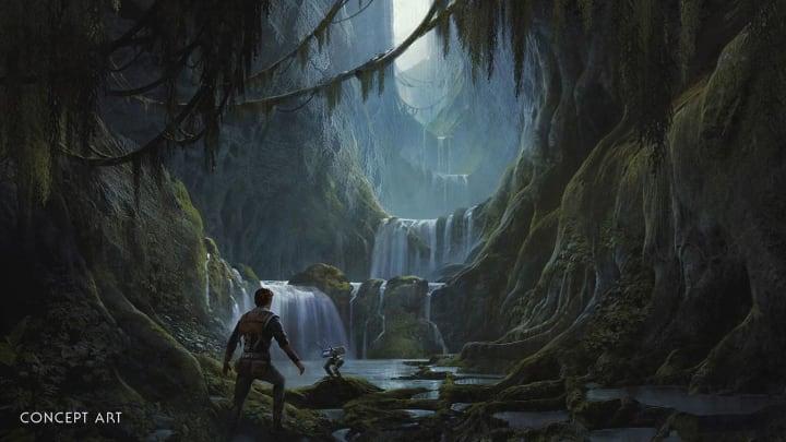 Concept art from Jedi: Fallen Order.