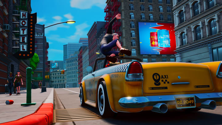 Taxi Chaos aims to bring back the vivacity of the taxi game niche genre.
