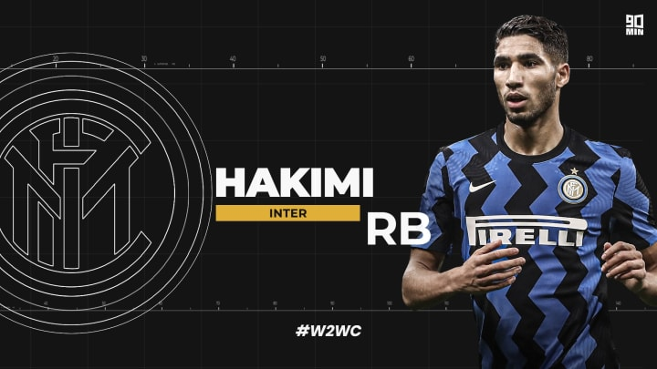 Achraf Hakimi is a newer face on the block, but epitomises the modern full back