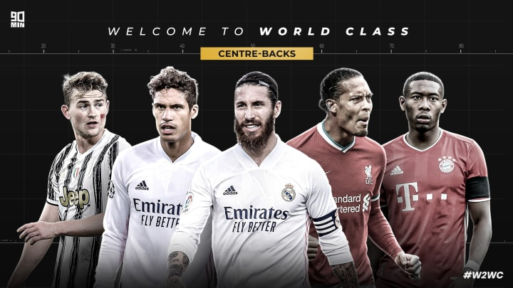 90min's top five centre-backs in the world for 2020 | #W2WC