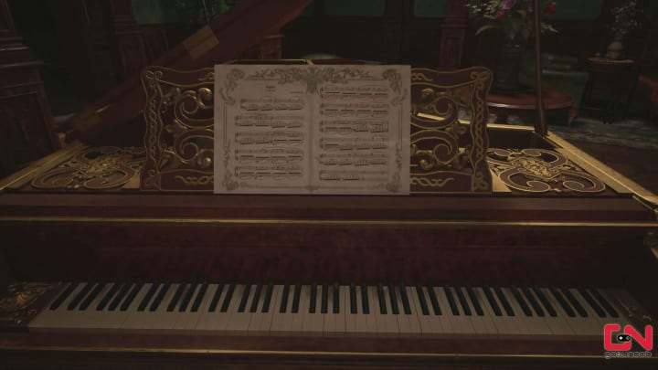 Resident Evil Village piano puzzle solution