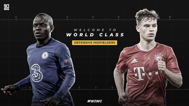 90min reveals the 10 defensive midfielders shortlisted for 2020's edition of Welcome to World Class | #W2WC