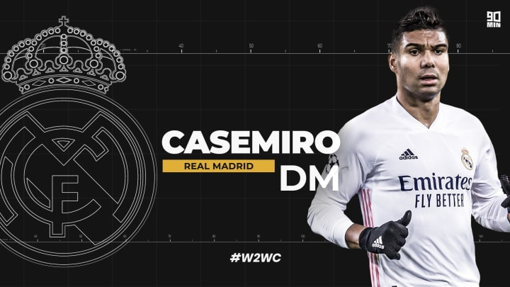 Casemiro has been a steady, reliable, world class performer for Real Madrid | #W2WC