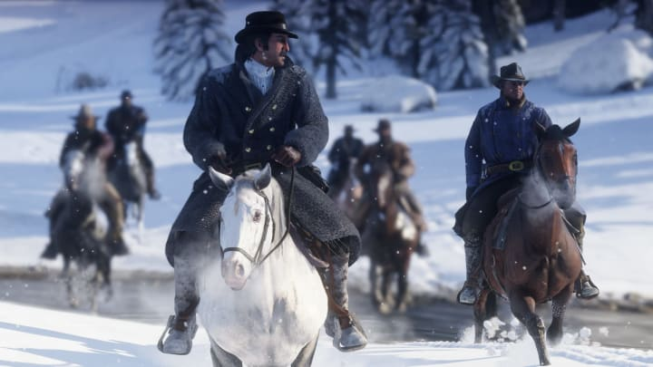"""Red Dead Online players can step into a brand new game mode called """"Call to Arms"""" where they'll be tasked with surviving waves of enemies."""