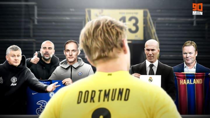 L'attaquant norvégien serait plutôt parti pour rester à Dortmund.