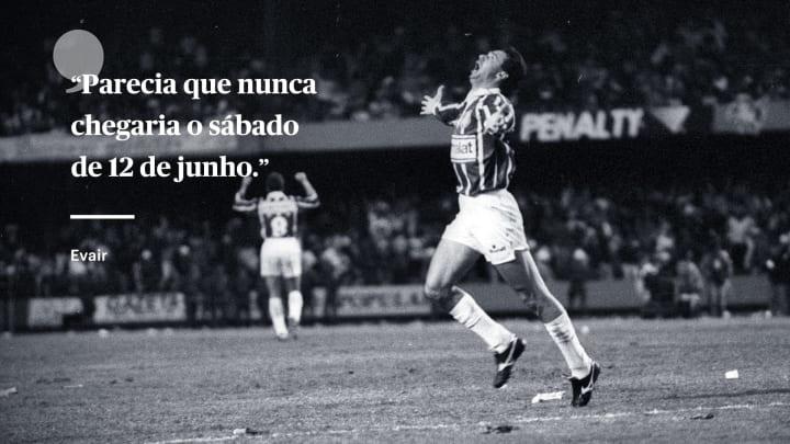 Evair gol Palmeiras Corinthians 1993