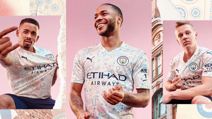 Manchester City 2020/21 third shirt