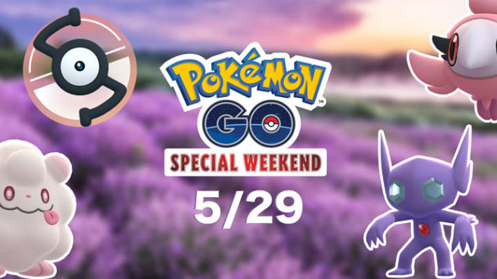 Pokémon GO will have its Special Weekend on May 29, that is exclusive to Verizon customers.  | Photo by Niantic, The Pokémon Company, Nintendo