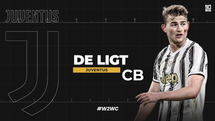 Matthijs de Ligt, already a world-class central defender