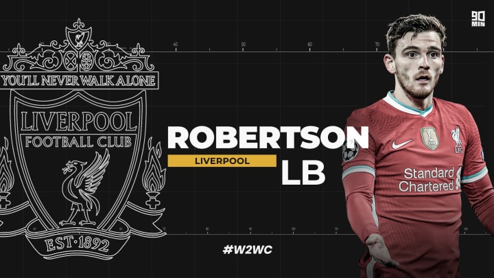 Andy Robertson features in 90min's Welcome to World Class series as one of the game's best left backs