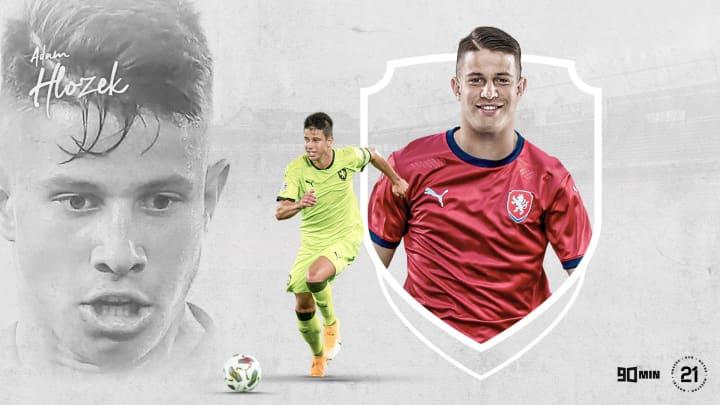 90min's Our 21: Sparta Prague and Czech Republic's Adam Hlozek