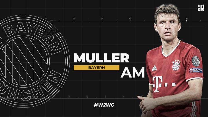 Thomas Muller has had a brilliant year