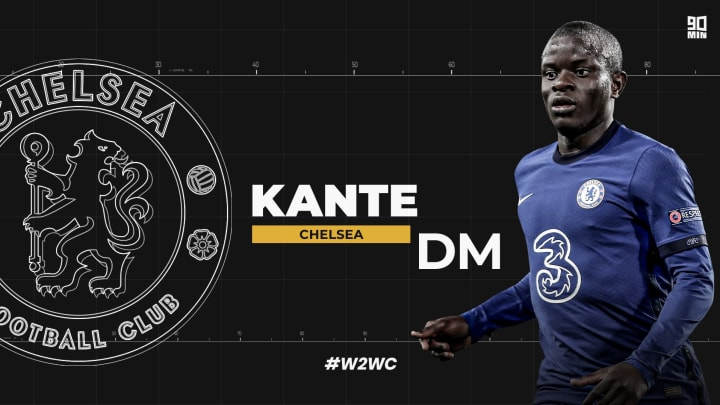N'Golo Kante is a two-time Premier League winner, and has also lifted the World Cup