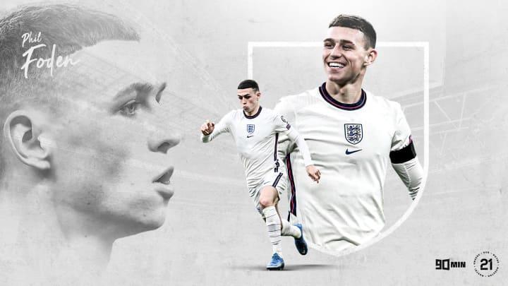 Phil Foden sera déjà très attendu avec l'Angleterre.