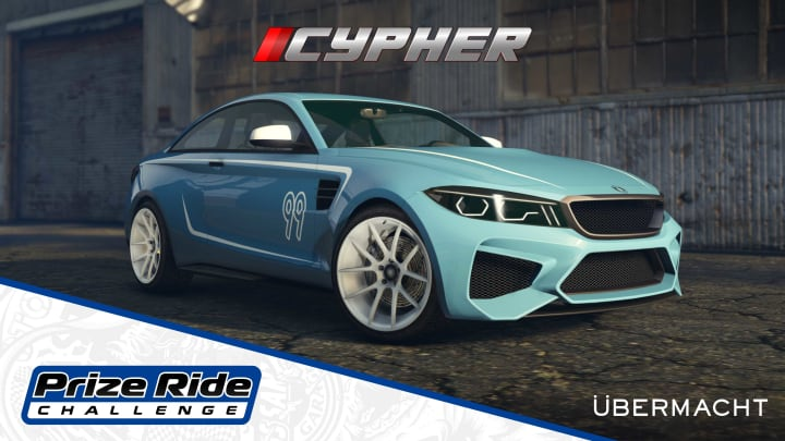 The Übermacht Cypher made its debut in Grand Theft Auto Online on Sept. 2, 2021.