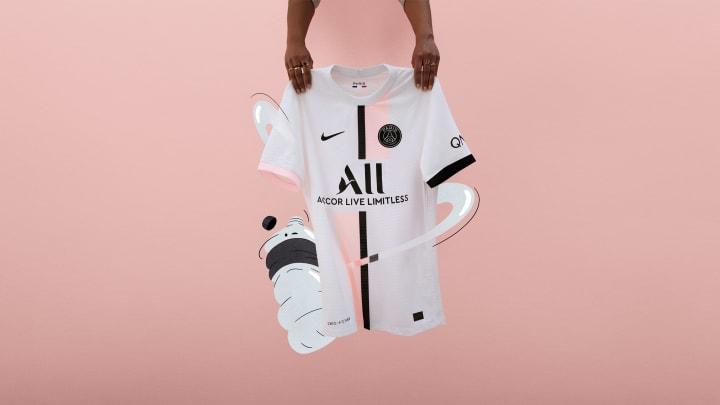 Un nouveau maillot pour le PSG