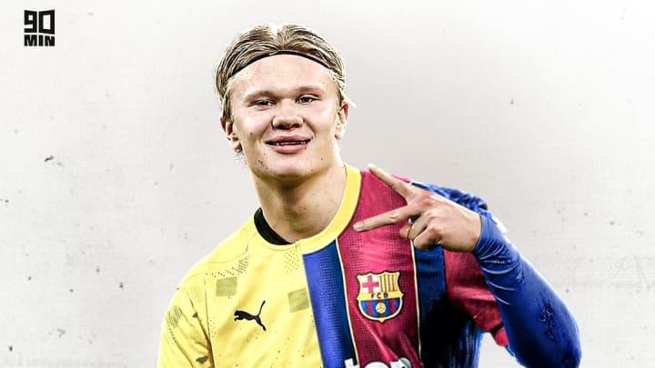 Le FC Barcelone est prêt à tout pour recruter Erling Haaland.