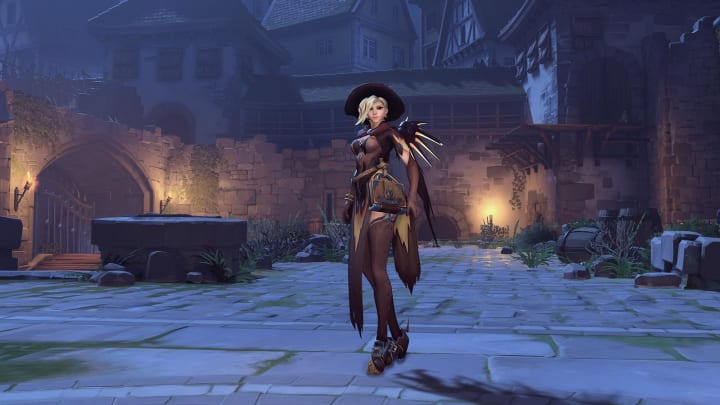 With Spooky Season kicking off, one Twitter user designed a new Halloween Terror skin for Mercy.