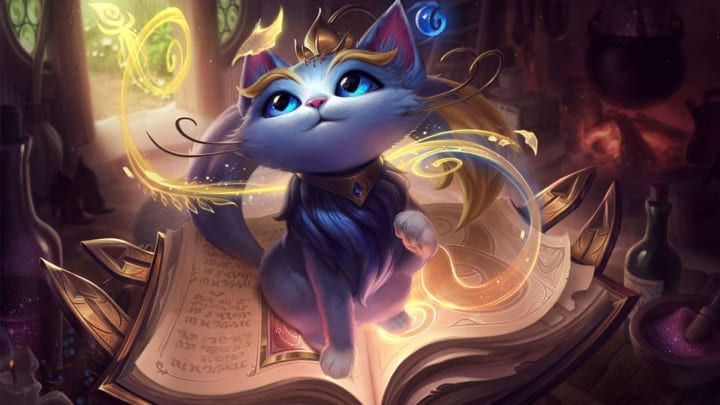 Yuumi is among the champions being nerfed in League of Legends Patch 10.13.