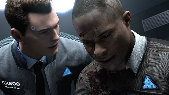 Detroit: Become Human Connor screenshot