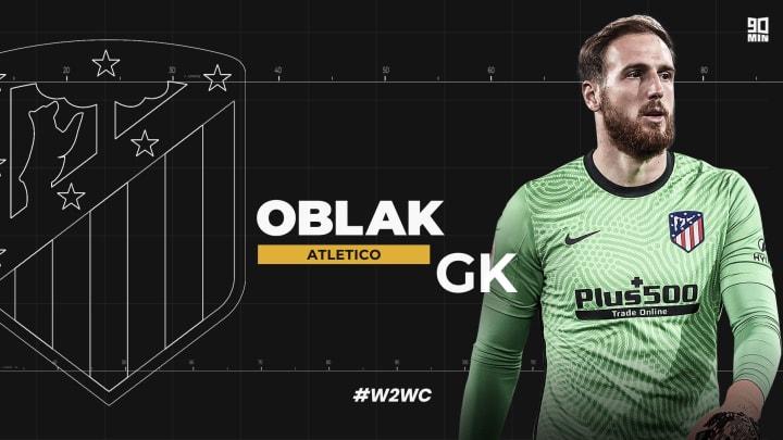 Atletico Madrid goalkeeper Jan Oblak is a world class performer