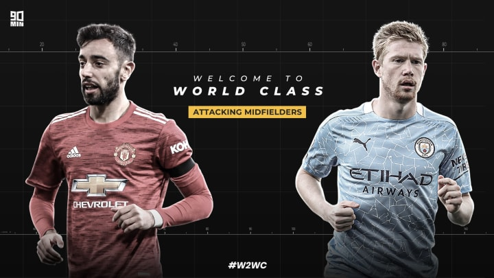 The attackers midfielders shortlist is revealed for 90min's Welcome to World Class series | #W2WC