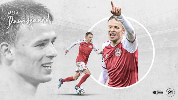 90min's Our 21: Sampdoria and Denmark's Mikkel Damsgaard