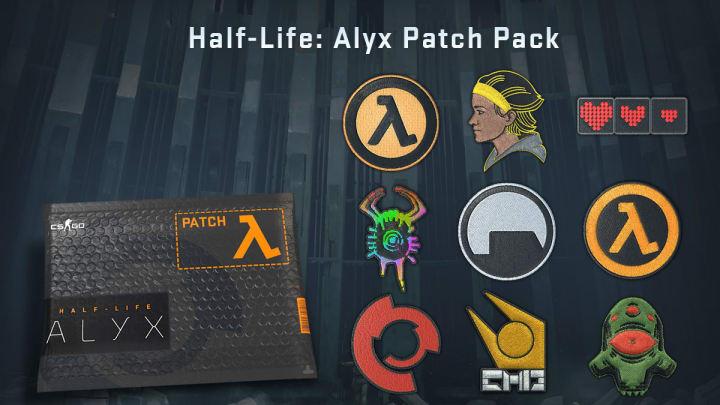 Valve released commemorative Half-Life: Alyx items in CS:GO on Sunday.