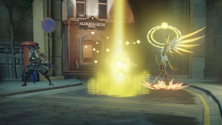 Mercy mains discovered it was extremely hard to get on-fire after she was heavily revamped in 2017