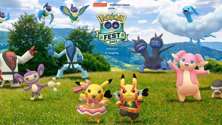 Meloetta, the Melody Pokémon, will be taking center stage during Pokémon GO Fest 2021.