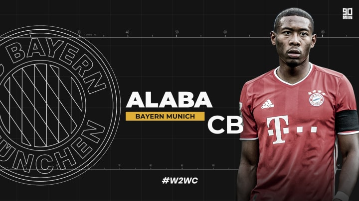Bayern Munich centre-back David Alaba is a world class performer