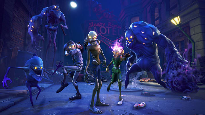 A leaked Fortnite LTM appears to draw on zombie infection-style game modes.