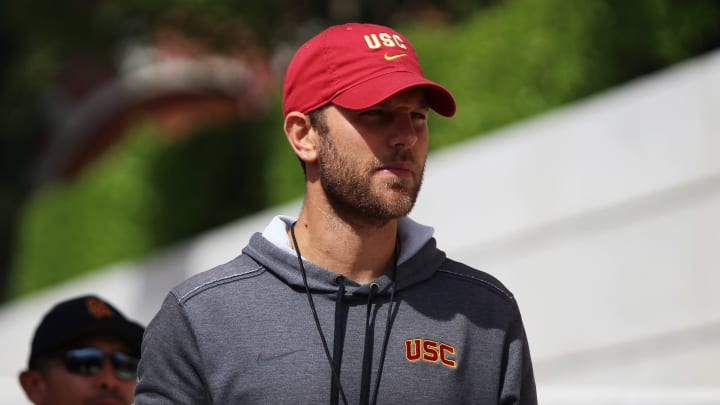 USC football offensive coordinator Graham Harrell.