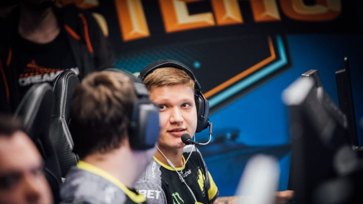 S1mple's Twitch channel appears to have been banned.