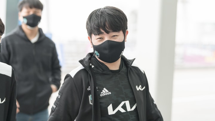 "DAMWON Gaming's Kim ""Canyon"" Geon-bu 