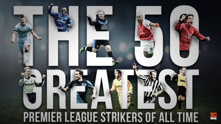 Some of the Premier League's greatest marksman are among the 50