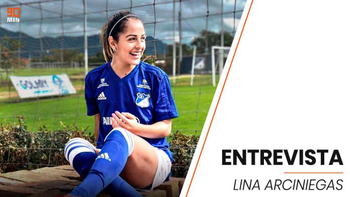 Entrevista exclusiva con Lina Arciniegas, futbolista de Millonarios