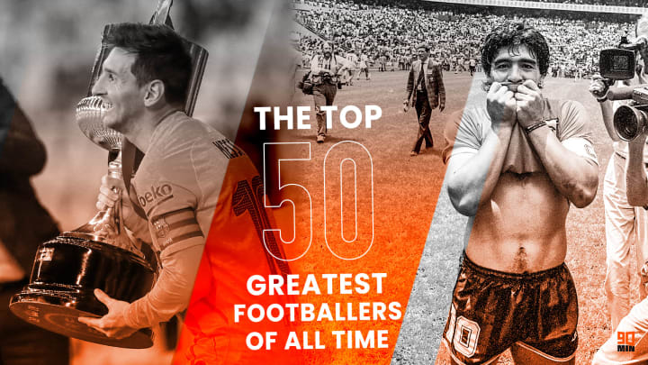The 50 greatest footballers of all time - image by Briony Painter