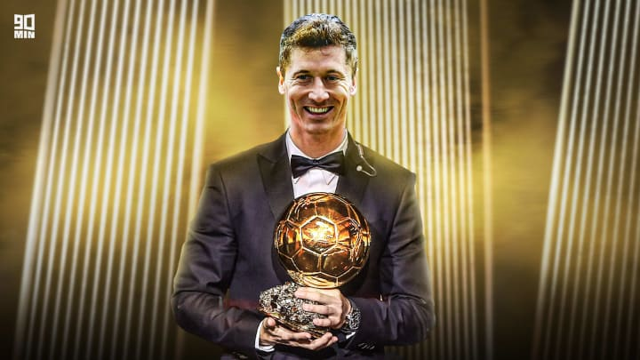 Lewandowski was the heavy favourite for the Ballon d'Or.