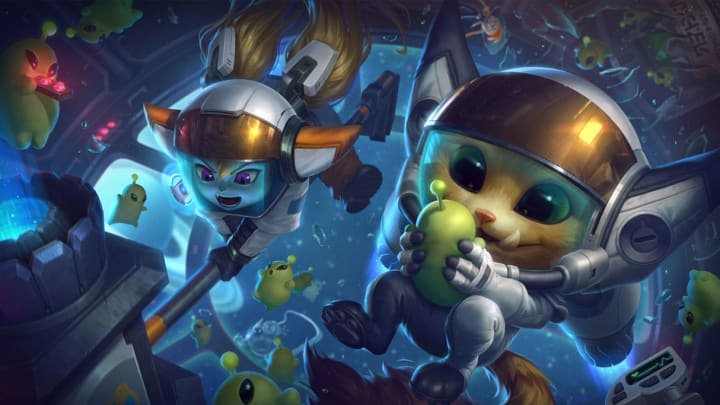 Astronaut Poppy was one of three Astronaut skins added in the League of Legends Patch 10.11 PBE cycle.