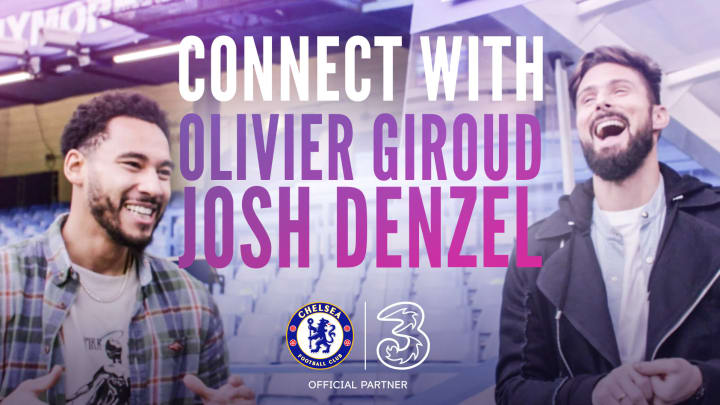 Chelsea striker Olivier Giroud talked fashion with Josh Denzel