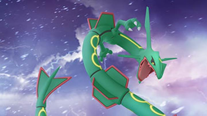Pokemon Go Rayquaza Best Moveset