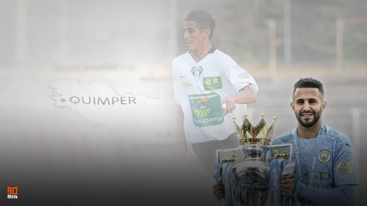 Riyad Mahrez a parcouru du chemin depuis son temps à Quimper.