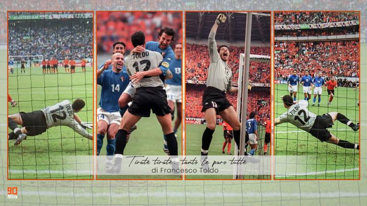 Francesco Toldo racconta Italia Olanda a Euro 2000
