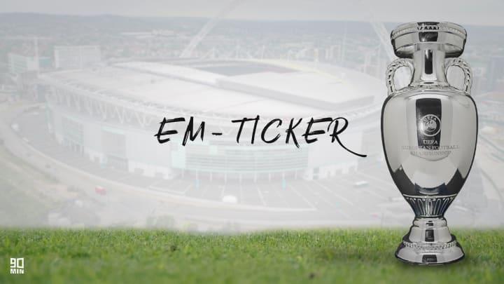 Der EM-Ticker am Dienstag: Entscheidung in der England-Gruppe